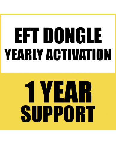1 YEAR RENEW SUPPORT FOR EFT DONGLE