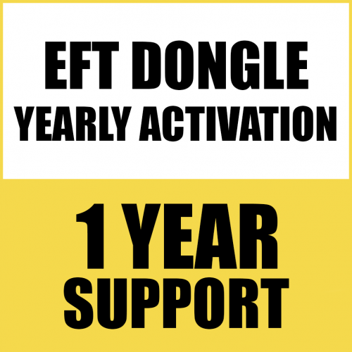 1YEAR RENEW SUPPORT FOR EFT DONGLE