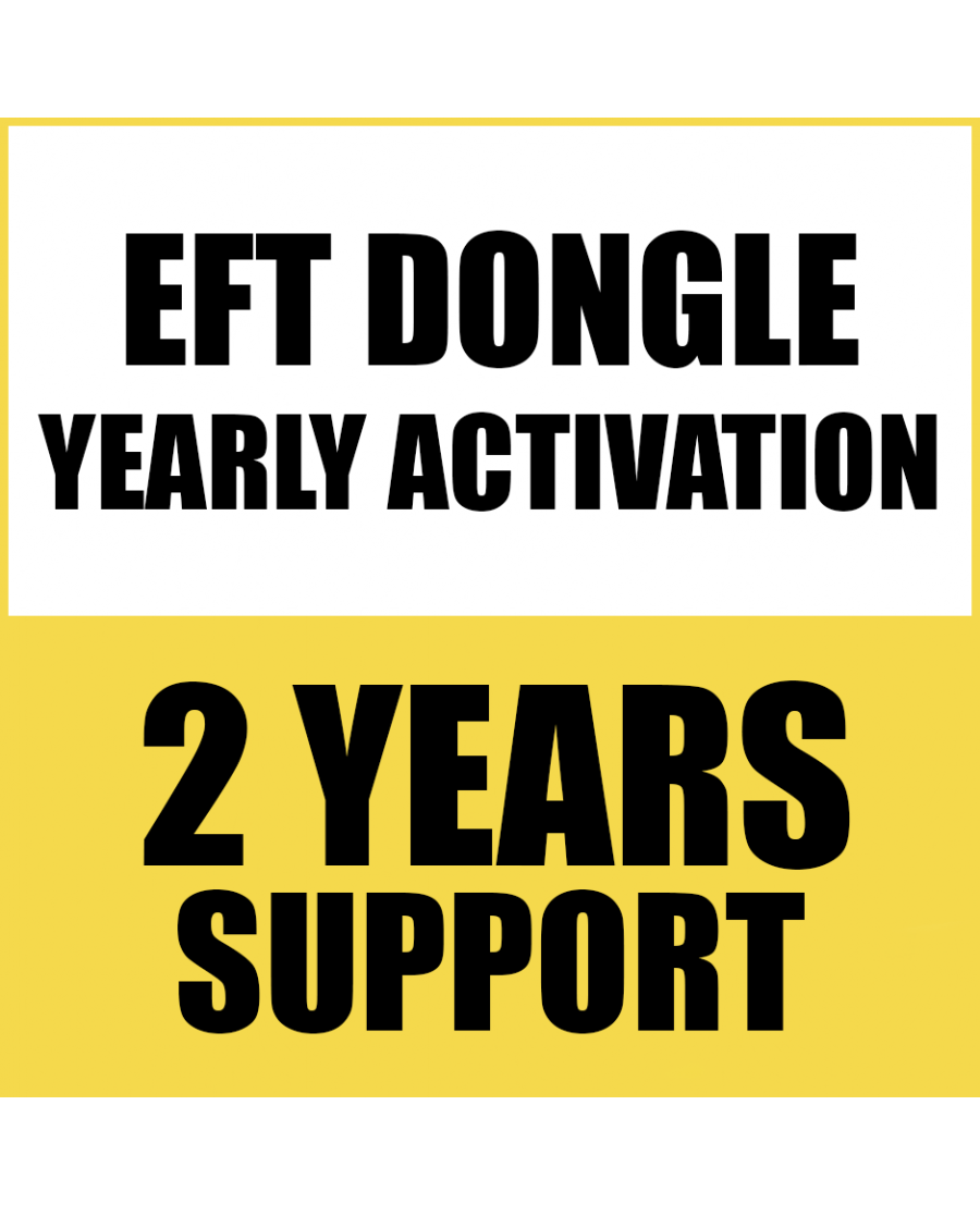 2 YEARS RENEW SUPPORT FOR EFT DONGLE