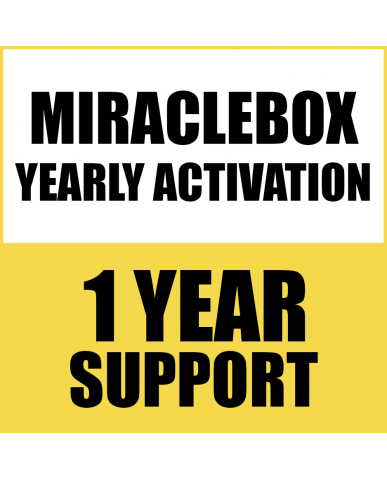 1 YEAR RENEW SUPPORT FOR MIRACLE BOX/THUNDER