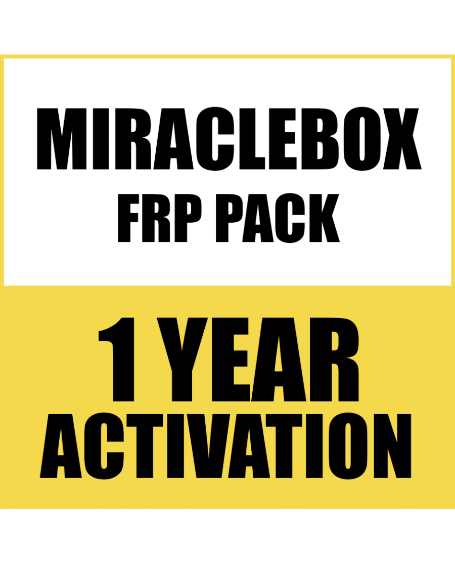 FRP PACK TOOL ACTIVATION FOR MIRACLE BOX/THUNDER