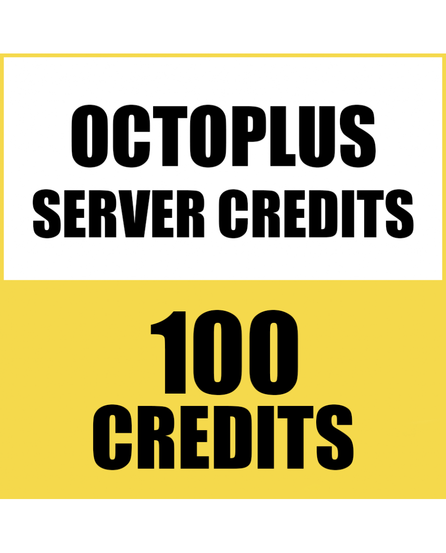 100CREDITS FOR OCTOPUS BOX