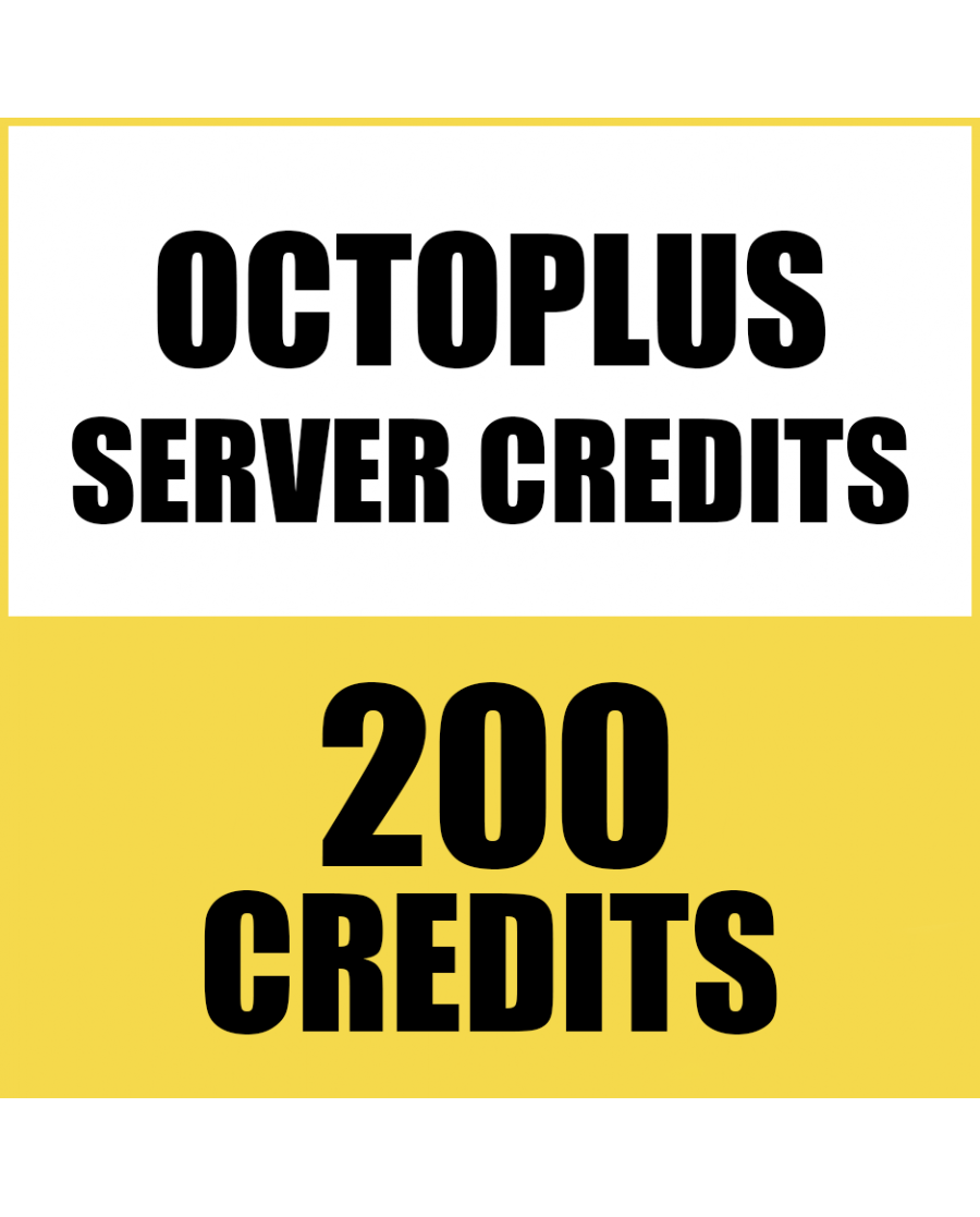200CREDITS FOR OCTOPUS BOX