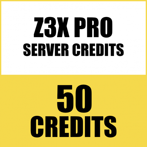50CREDITS FOR Z3X PRO