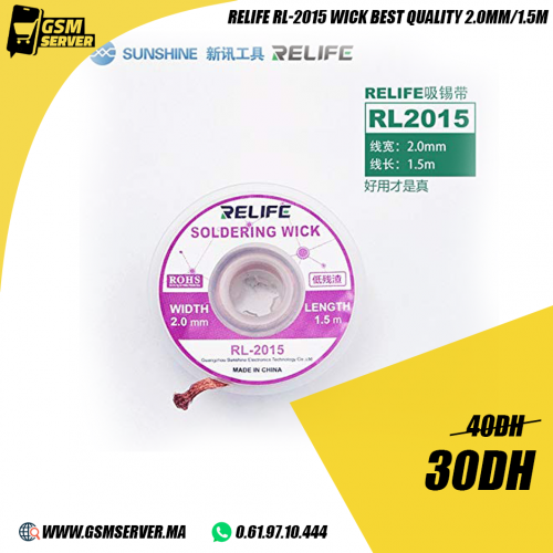 Relife RL-2015 Original Wick Soldering 2.0mm 1.5m