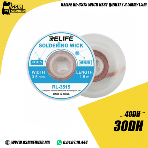 Relife RL-3515 Original Wick Soldering 3.5mm 1.5m
